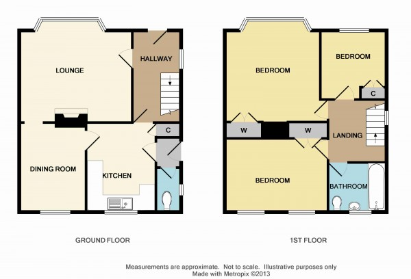 Floorplan for Beanshaw, Eltham, London SE9