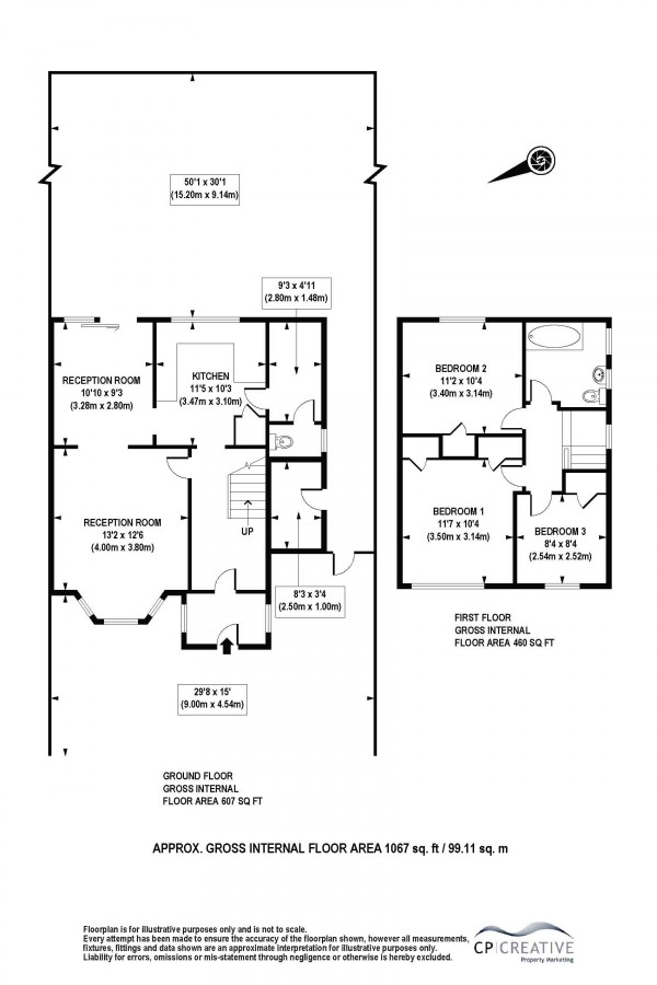 Floorplan for Leas Dale, Mottingham