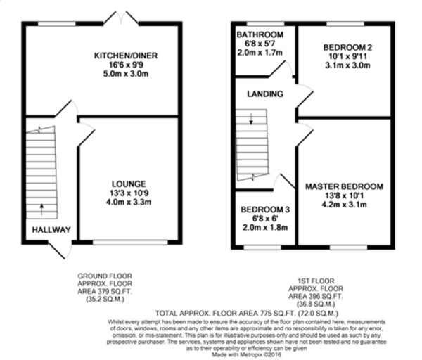 Floorplan for Westdean Avenue, Lee