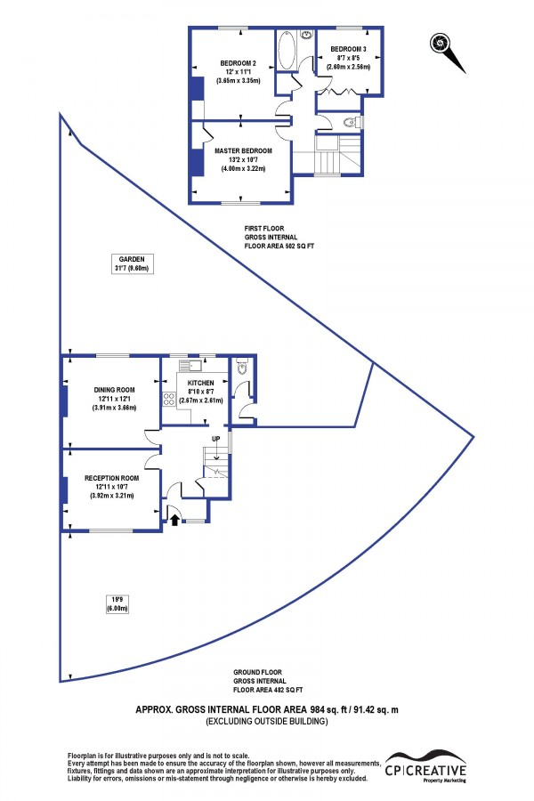 Floorplan for Littlemede, Eltham, London SE9