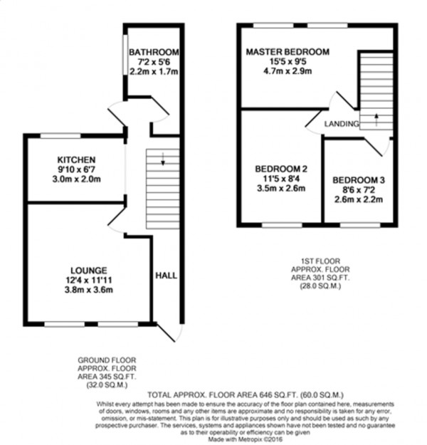 Floorplan for Thursley Road, Mottingham