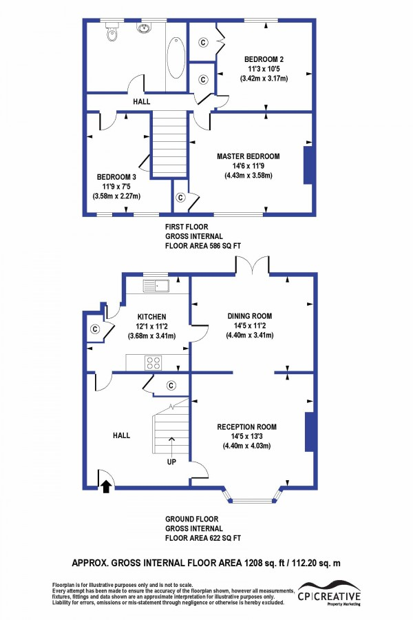Floorplan for William Barefoot Drive, Eltham