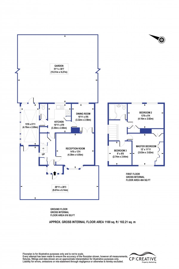 Floorplan for Spekehill, Mottingham