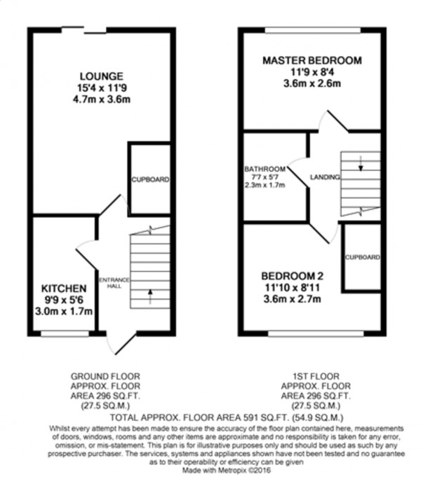 Floorplan for Ravensworth Road, Mottingham