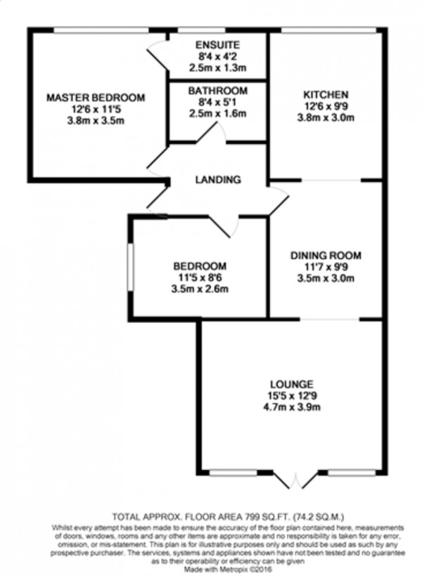Floorplan for High Street, Chislehurst