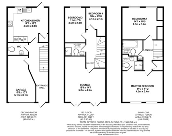 Floorplan for Mackintosh Street, Bromley
