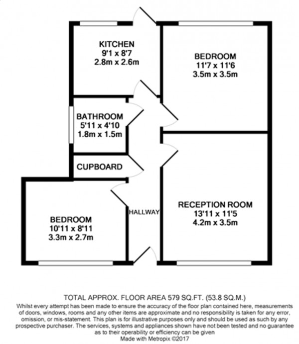 Floorplan for Kingsground, Eltham