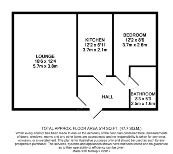 Floorplan for Pickwick Court, Mottingham