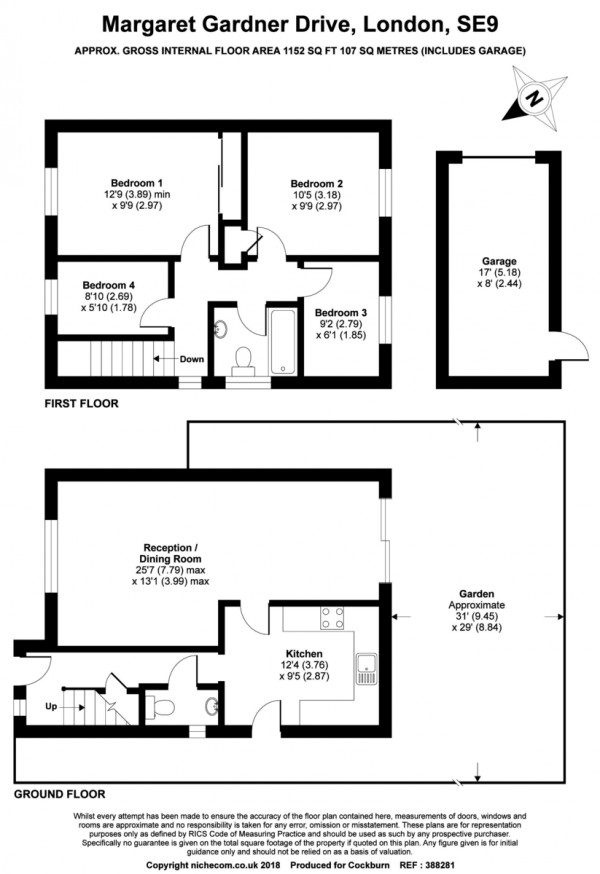 Floorplan for Margaret Gardner