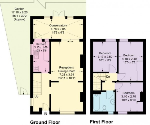 Floorplan for Lannoy Road, New Eltham, SE9