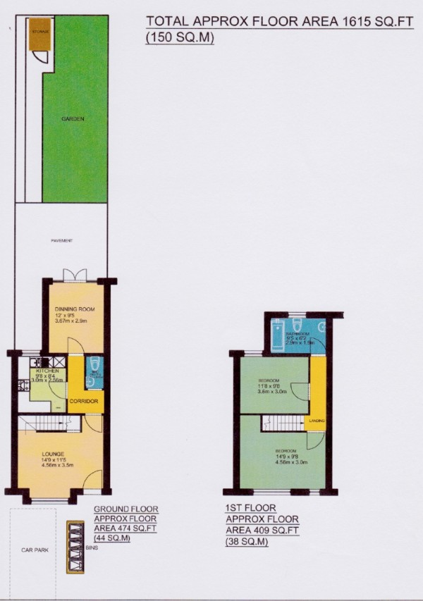 Floorplan for Corbylands Road, Sidcup